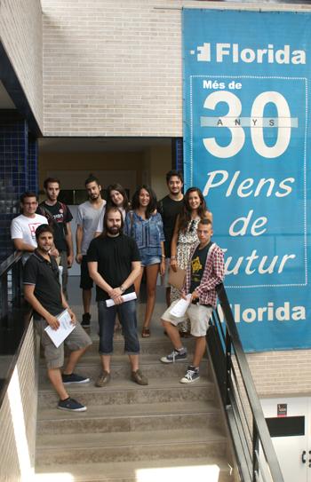 Alumnado Eramus+ de Florida Universitària