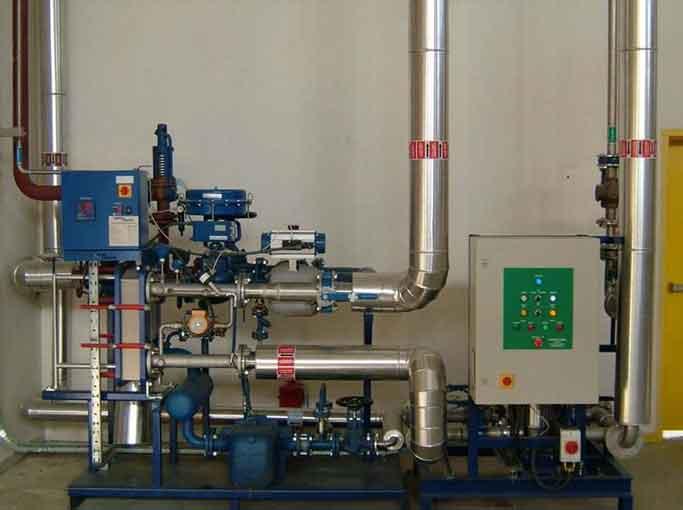 Equipo generador instantáneo de agua caliente